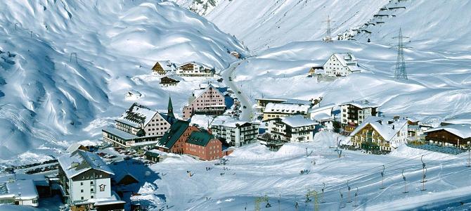 Зимний отдых в прекрасной Австрии