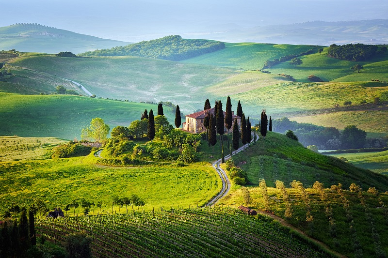 1-Красивые пейзажи. Тоскана. Италия
